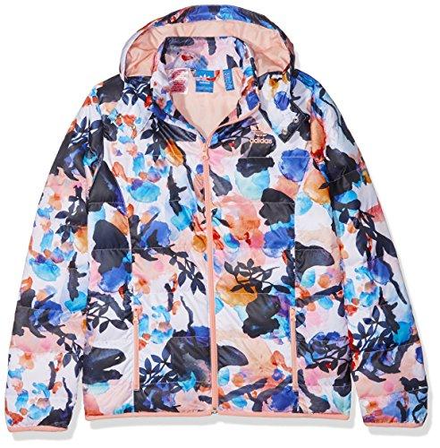 adidas Mädchen J TRF S AOP JKT Jacke, Multifarbe/Multco/Corneb, 164 (Jacke Adidas Aop)