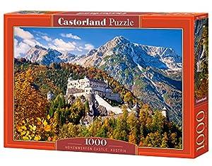 CASTORLAND Hohenwerfen Caslte, Austria 1000 pcs Puzzle - Rompecabezas (Austria 1000 pcs, Puzzle Rompecabezas, Paisaje, Niños y Adultos, Niño/niña, 9 año(s), Interior)