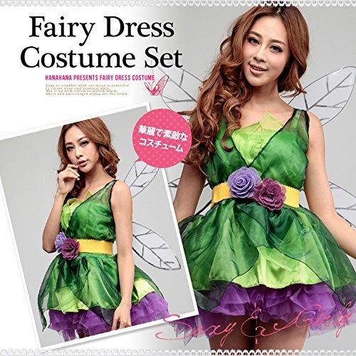 Halloween Costume Tinker Bell fairy feather dress with devil witch costume witch costume Disney Fancy Dress Halloween Party Goods Harouin cosplay Disney Snow White Halloween costume (japan import)