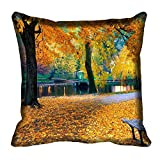 meSleep Nature 60-142 Digitally Printed Cushion Cover (16x16) best price on Amazon @ Rs. 175