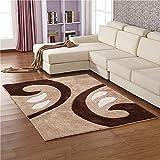 BAGEHUA Maßgeschneiderte Moderne/High Density/Stretch Filament Teppich Wohnzimmer Sofa Teppich Schlafzimmer Nacht Matratze Rechteckig, 140X200 cm, Tt05