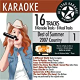 ASK-82003 Country Karaoke Summer 2007 Vol.1; Bucky Covington - Best Reviews Guide