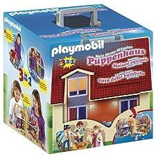 PLAYMOBIL-5167 Casa de muñecas maletín, Miscelanea (5167