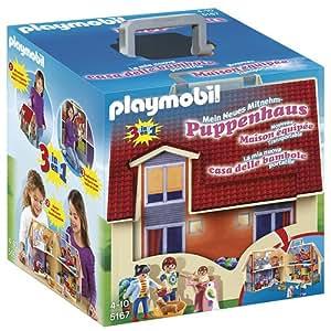 Playmobil 5167 - Casa delle Bambole Portatile, Multicolore