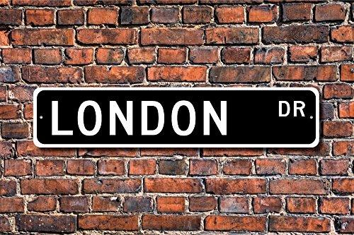 CELYCASY - Placa Londres Texto inglés London Visitor
