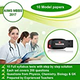 AIIMS MBBS 2017 Model Papers Pen Drive (...