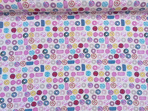 prestige-cp0446-doughnuts-cakes-sweets-bakery-dessert-shops-print-cotton-poplin-rose-and-hubble-dres