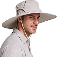 Gisdanchz UPF50+ Cappello Trekking Tesa Larga, Cappello Sole Anti UV Estivo Traspirante