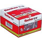 fischer DUOPOWER 6 x 50, universele pluggen, krachtige 2-componenten pluggen, kunststof pluggen voor bevestiging in beton, ba