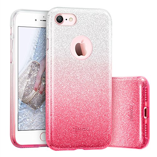 custodia iphone 7 con brillantini