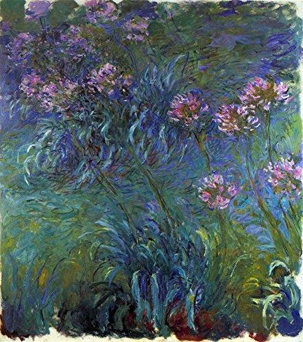 Das Museum Outlet-Schmuck Lilien von Monet-Leinwanddruck Online kaufen (101,6x 127cm)