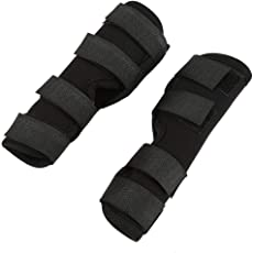 1 Pair of Dog Rear Leg Brace Pet Surgical Injury Bandage Wrap Heal Wound Protector