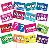 #10: Discount Retail Photo Booth Party Props For Baby Shower
