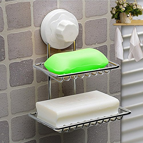 double-deck-soap-dish-holder-bathroom-shower-tray-with-suction