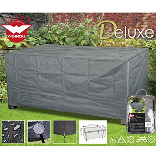 Deluxe Schutzhülle für Gartentische, 170x100cm, aus Polyester 420D • Garten Tisch Gartenmöbel...