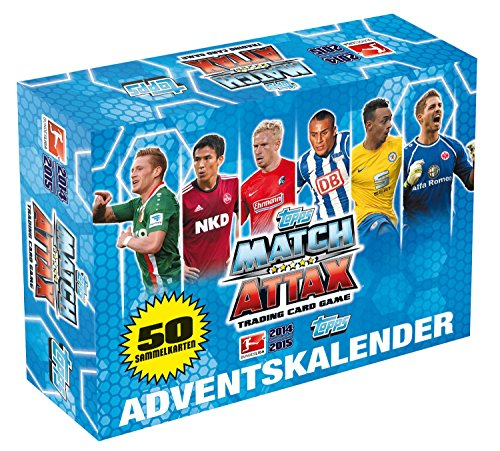 Topps TO00924 - Adventskalender 2014 Match Attax (Yu Gi Oh Karten 2015)