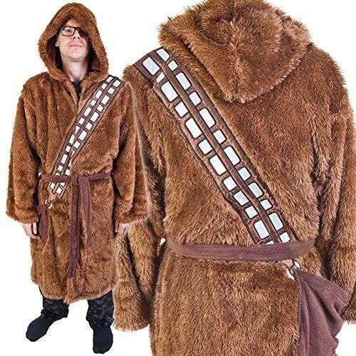 Star Wars Chewbacca para Adultos Albornoz y Funda Swim Suit Up Marrón marrón Talla única