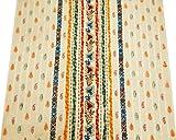 Weißen Anzug Herstellung Stoff Paisley-Muster Indischen
