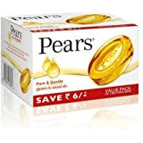 Pears Pure & Gentle Soap Bar, 3x125g