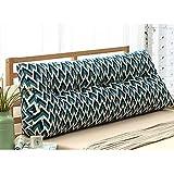 M-Y-S Dreieck Bett Rückwand Taille Kissen Baumwolle Und Leinen Weichen Tasche, Abnehmbar Waschbar, Größe 150 * 50 * 22CM (Farbe : 9#, größe : 150cm)