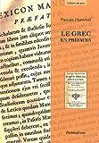 grec préfaces