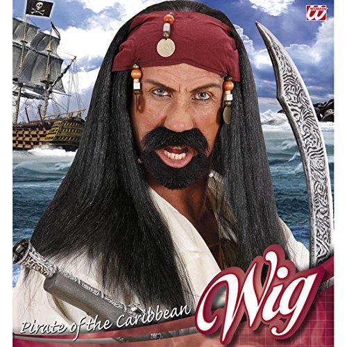 Zigeuner Perücken - Amakando Piratenperücke Seeräuber Haare mit Bandana