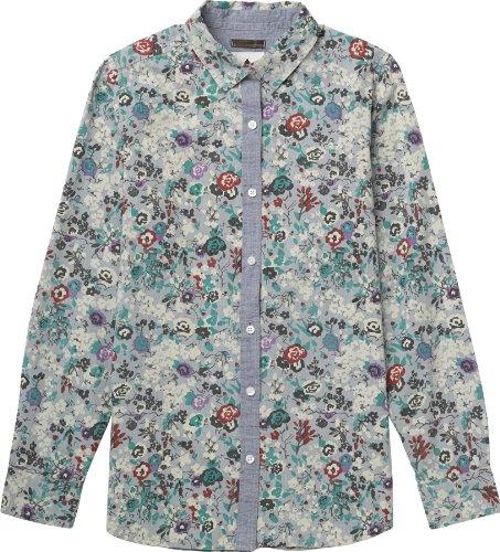 Burton, Camicia Donna Grace maniche lunghe Multicolore (Floral Print)