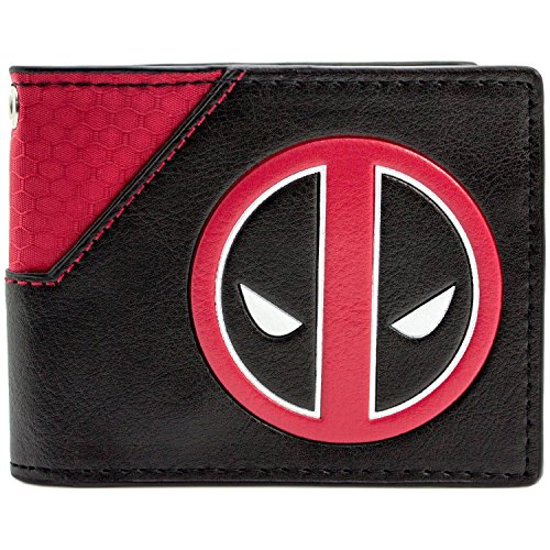 Marvel Deadpool Gesichts-Logo Mehrfarbig Portemonnaie -