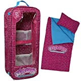 The New York Doll Collection Doll Bedding Borsa da Viaggio e Sleepover Set con 9 Accessori per Bambole di 45,7 cm