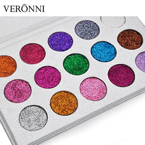 ter Lidschatten Pulver Palette Matte Lidschatten Kosmetik Make-Up ()