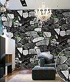 Thatch Kulturellen chinesischen pastorale Sofa TV Hintergrund Felswand Hotel Shop Tapeten , 3 , 0.53m*10m