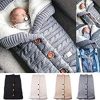 Yinuoday - Manta para bebé recién nacido con terciopelo para cochecito de bebé, manta de forro polar suave y cálida para niños y niñas
