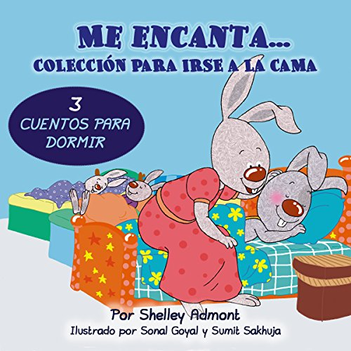 Me encanta...Colección para irse a la cama (Spanish Bedtime Collection) por Shelley Admont
