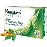 Himalaya Neem and Turmeric Soap, 125g (Pack of 6)
