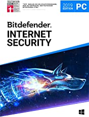 Bitdefender Internet Security 2019 - Inkl. VPN - 1 Jahr / 3 Geräte für PC