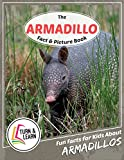 The Armadillo Fact and Picture Book: Fun Facts for Kids About Armadillos (Turn and Learn)
