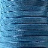 5m Gummiband 10mm breit (1,00€/m) - 4703- blau