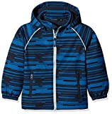 NAME IT Jungen Regenjacke Nitalfa Softshell Jacket Mesh MZ FO, Mehrfarbig (Dress Blues), 122