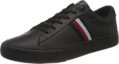 Tommy Hilfiger Men's Corporate Leather Sneaker