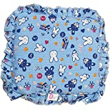 KIdzvilla® New Born Baby Mustard Seeds(Rai) Pillow For Baby Head Shaping Teddy Print Children'S Neck Support Pillow, Soft And Plush Cotton Baby Pillow For Easy Washing Feeding & Nursing Baby Neck Pillow (0 To 12 Month's) (Blue)