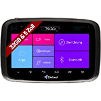 Elebest Rider AM500 Pro Motorrad Android 6.0 Navigationsgerät 32GB Speicher 5 Zoll HD Display Stabile Lenkerhalterung…
