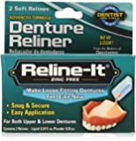 Dentemp Reline-It Denture Reliner Kit