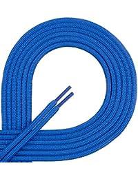 Di Ficchiano - Cordones de zapatos de Material Sintético , color azul, talla 80 cm