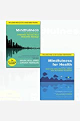 mindfulness for health and mindfulness 2 books collection set - (a practical guide to finding peace in a frantic world,a practical guide to relieving pain, reducing stress and restoring wellbeing) Paperback