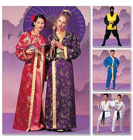 McCall 's Schnittmuster 2940Unisex Erwachsene Kostüme Größen: S-M