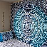 Tapisserie Mandala Tapisserie Bohemian Floral Beach Throw Wandbehang Tapisserie Indianer Wandbehang Blumentapisserie Hippie Raumdekoration