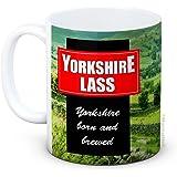 Yorkshire Lass - Grappige keramische koffiemok