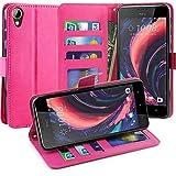 HTC Desire 825 Hülle, Scott-DE Luxus PU Leder Brieftasche