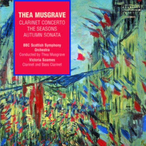 Musgrave: Clarinet Concerto,the Seasons,Autumn S