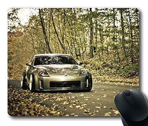 gaming-mouse-pad-customized-mousepads-nissan-350z-in-forest-natural-non-slip-eco-rubber-durable-desi